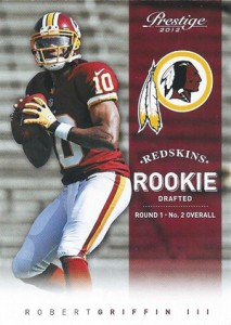 top fashion c7875 f3a04 Robert Griffin III Rookie Card Guide