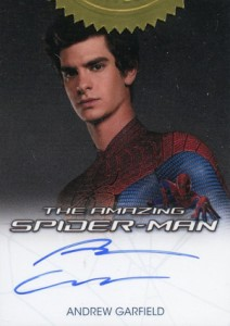 2012 Rittenhouse Amazing Spider-Man Autographs Andrew Garfield as Spider-Man