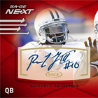 2012 SAGE Next Rookies Football Cards