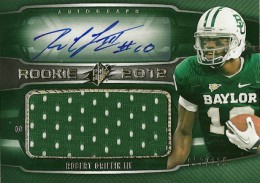 2012 SPx Football Rookie Auto Jersey 79 Robert Griffin III