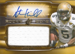 2012 SPx Football Rookie Auto Jersey 85 Stephen Hill