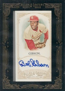 Comprehensive 2012 Topps Allen & Ginter Autograph Guide 1