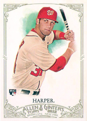 Bryce Harper Rookie Cards Checklist and Autograph Buying Guide 10