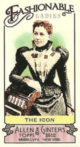 Fashionable Ladies and Guys in Hats Surprise in 2012 Topps Allen & Ginter 10