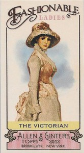 Fashionable Ladies and Guys in Hats Surprise in 2012 Topps Allen & Ginter 4