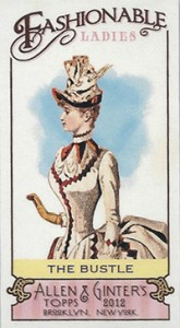 Fashionable Ladies and Guys in Hats Surprise in 2012 Topps Allen & Ginter 5