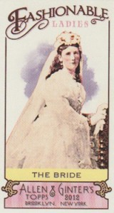Fashionable Ladies and Guys in Hats Surprise in 2012 Topps Allen & Ginter 7
