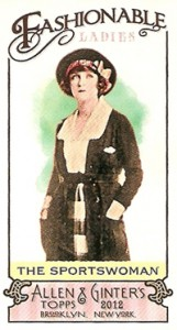 Fashionable Ladies and Guys in Hats Surprise in 2012 Topps Allen & Ginter 8