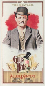 Fashionable Ladies and Guys in Hats Surprise in 2012 Topps Allen & Ginter 11