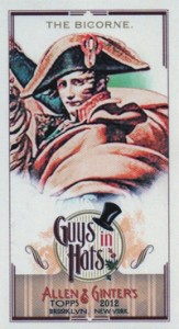Fashionable Ladies and Guys in Hats Surprise in 2012 Topps Allen & Ginter 20