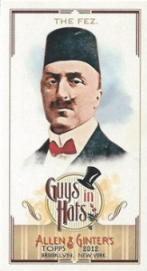 Fashionable Ladies and Guys in Hats Surprise in 2012 Topps Allen & Ginter 14