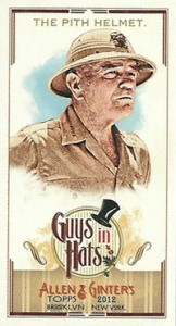 Fashionable Ladies and Guys in Hats Surprise in 2012 Topps Allen & Ginter 15