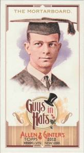 Fashionable Ladies and Guys in Hats Surprise in 2012 Topps Allen & Ginter 17