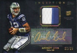 2012 Topps Inception Football Hot List 8
