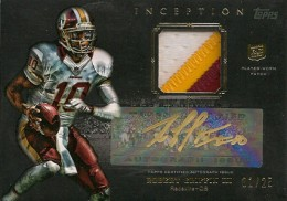 2012 Topps Inception Football Hot List 5