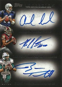 2012 Topps Inception Football Hot List 2
