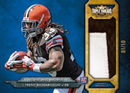 2012 Topps Triple Threads Football Cards 9