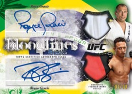 2012 Topps UFC Bloodlines Trading Cards 11