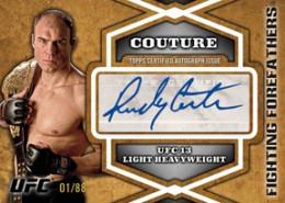 2012 Topps UFC Bloodlines Trading Cards 17