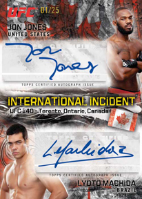 2012 Topps UFC Bloodlines Trading Cards 20