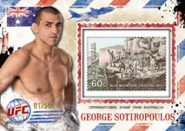2012 Topps UFC Bloodlines Trading Cards 19