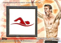 2012 Topps US Olympic Team Event Pins Michael Phelps
