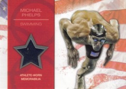 2012 Topps US Olympic Team Relics Michael Phelps