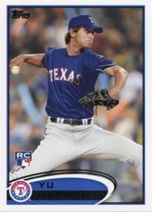 Yu Darvish Cards - 2012 Topps Baseball Yu Darvish 660