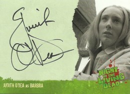 2012 Unstoppable Cards Night of the Living Dead Autographs A2 Judith ODea as Barbra