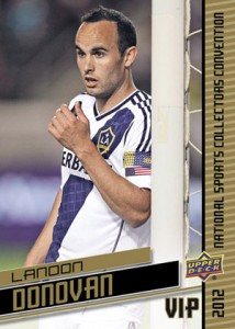 2012 Upper Deck National VIP Set Landon Donovan
