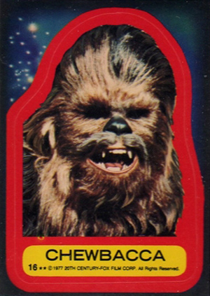 1977 Topps Star Wars Series 2 Trading Cards 26