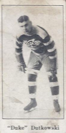 1923 V128-1 Paulin's Candy Hockey Card