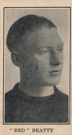 1928 V128-2 Paulin's Candy Hockey Card