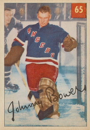 1954-55 Parkhurst Hockey Cards 20