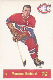 1957-58 Parkhurst Hockey Cards 20