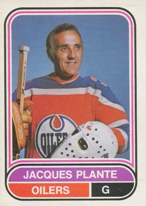 1975-76 O-Pee-Chee WHA Hockey Jacques Plante