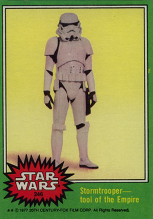 1977 Topps Star Wars Series 4 Trading Cards 21