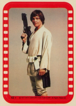1977 Topps Star Wars Series 4 Trading Cards 25