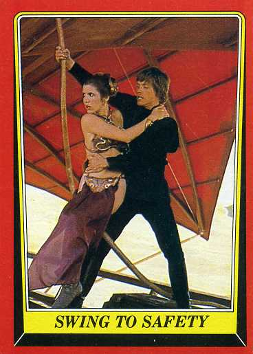 1983 Topps Star Wars: Return of the Jedi Series 1 Base Card