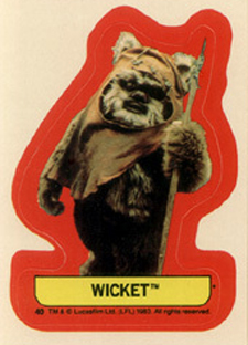 1983 Topps Star Wars: Return of the Jedi Series 2 Trading Cards 22