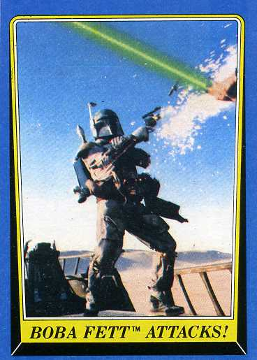 1983 Topps Star Wars: Return of the Jedi Series 2 Trading Cards 21