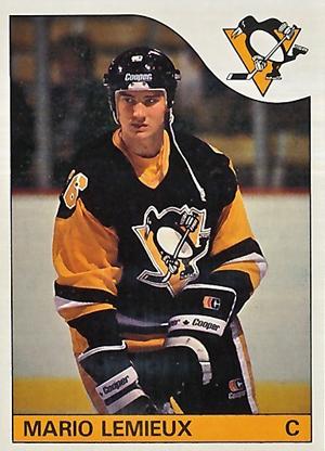 1985-86 Topps Hockey Mario Lemieux RC