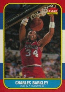 1986-87 Fleer Basketball Charles Barkley RC