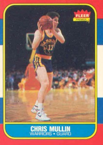 1986-87 Fleer Basketball Chris Mullin RC