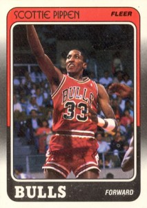 1988-89 Fleer Basketball Scottie Pippen RC