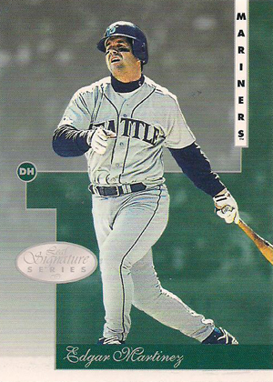 1996 Leaf Signature Series Baseball Base Card