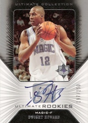 Dwight Howard Cards - 2004-05 Ultimate Collection Dwight Howard RC