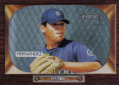 Felix Hernandez Rookie Card Checklist and Guide 4