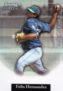 2004 Bowman Sterling Felix Hernandez RC