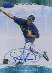 2004 Bowmans Best Felix Hernandez RC Autograph